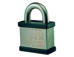 28050.71.0 Open Shackle Padlock - 45mm Clearance NP | Image 1