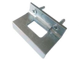 376FFKP.ZP Flush Face Keeper Plate | Image 1