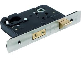 5220.57.S.SS Sash Lock 57mm Backset - Square Forend | Image 1