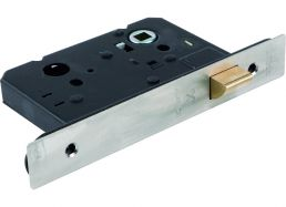 5240.57.R.SS Latch 57mm Backset - Radius Forend | Image 1