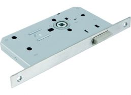 5440.60.S.SS Latch 60mm Backset - Square Forend | Image 1